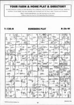 Runeberg T138N-R36W, Becker County 1992 Published by Farm and Home Publishers, LTD